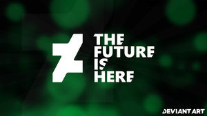 The Future Is Here - DEVIANT ART New logo 2014 by MilesAndryPrower