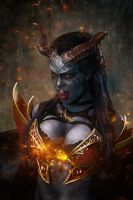 Queen of Pain by vpotemkin