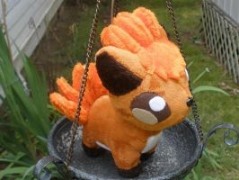 Vulpix big Pokedoll