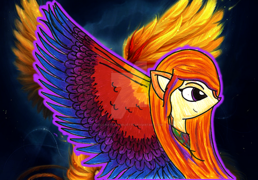 The Phoenix's wings~ //edit\ by GloriaTheFamiliette