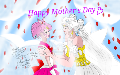 Happy Mother's Day From Sailor Moon Crystal by SailorMoonFanGirl