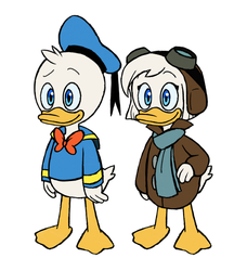 Duck Twins by Infinity-Drawings