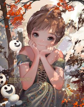 Let it Snow by kawacy