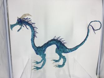Large water Dragon sculpture  by shottsy85