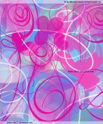 Romantic Flowers and Swirls Brushes by Coby17