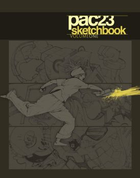 SKETCHBOOK Cover by pacman23