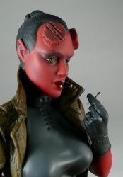 Hellgirl 2, Garage Kit by Harkon72