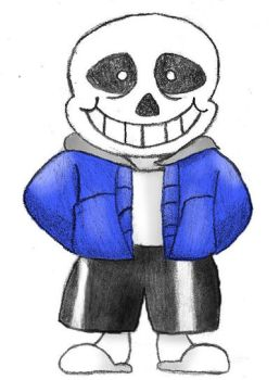 Sans- Undertale by Adripika