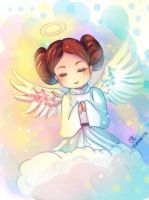 -- Tribute to Carrie Fisher -- by Kurama-chan