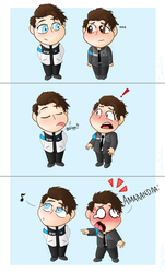 Connor meets Nines by CipherSnail