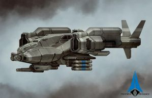 Predator Gunship by sabresteen