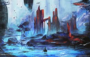 Frostfront fortress by Jackiefelixart