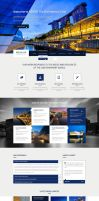 Renar - Premium Architect PSD Template by heavenzART