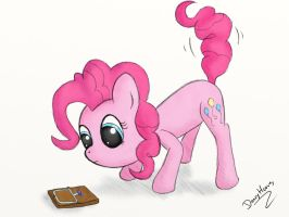 Pinkie Pie vs. Mousetrap by dennyhooves