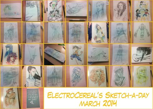 March 2014 by ElectroCereal