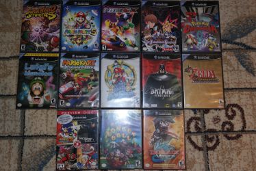My GameCube Games! by Just-Call-Me-Sonic