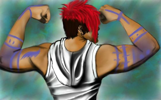 Markiplier Muscle Appreciation by TheRoyalCrow