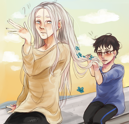 Youth~- Yuri!!! On Ice by Lilithenisha