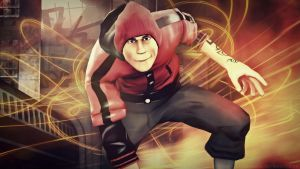 Infamous: Second son by karinscr