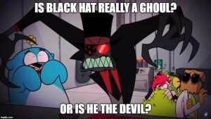 Is Black Hat A Ghoul by funnytime77