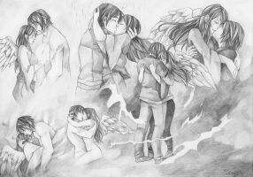 Couple Sketchpage for GamerGirl0608 by LonelyFullMoon