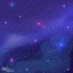 Starry Sky by popfan95b
