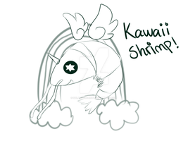 Kawaii shrimp by SolarXolverite
