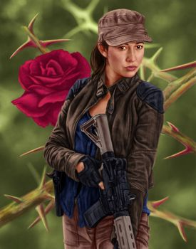 Rosita by dragynsart