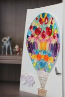 Quilling air baloon by Keila-the-fawncat
