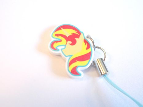 Sunset Shimmer Charm by Enuwey