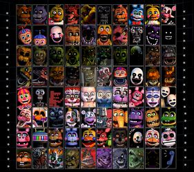 [EDIT] UCN Roster Remake. (Read Desc.) by FWolfie