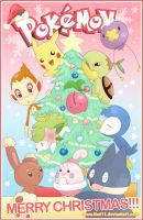 Merry Pokemon Christmas