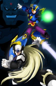 Megaman X4 by Comics-in-Disguise