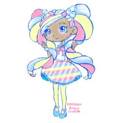 Shopkins Shoppies Marsha Mello by Bon-Bon-Bunny