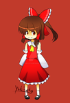 Yet another Reimu drawing
