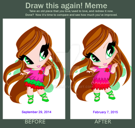 Before vs After comparison by RoseXinh
