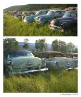 Rusting Olds 88s by Spex84