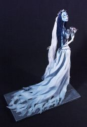 Corpse bride side view by Taash