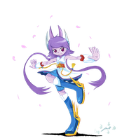 Freedom Planet 2 Lilac! by JuankosoCrappyArt