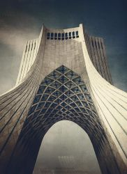 Azadi Tower by rezasasanian