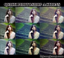 FREE Quick Photoshop Actions by ibjennyjenny