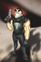 The Punisher by tiopalada