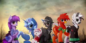[FanFic Art] Fallout Equestria: Commonwealth by Avastin4