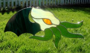 Another Stained Glass Cthulhu by bigblued
