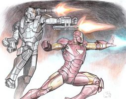 Iron Men by pagandevil