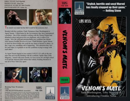 VENOMS MATE VHS COVER by sewershark3022
