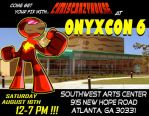 ONYXCON 6 AD1 by chriscrazyhouse