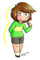 Chara (day 1-3) by ThreeLegMeg
