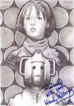 its pure logic - signed by wendy padbury by snakedaemon
