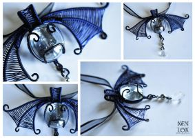 Blue Midnight Pendant by XenOhm